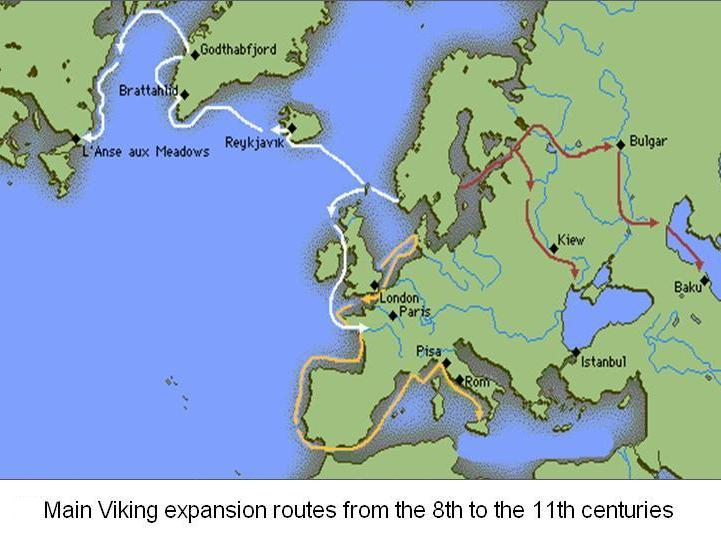 Map Of Ireland Vikings.Old Norse