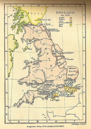 Map Of England In 9th Century.Periods In The Development Of English