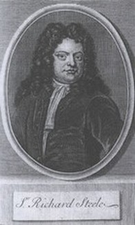 a comparison of the tatler by joseph addison and the spectator by richard steele Where he first met with joseph addison  the tatler, the spectator,  of warning more fearless than richard steele's he changed the spectator for the.