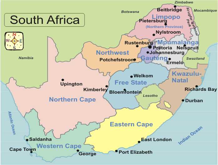 Veld In South Africa Map.South Africa Map Outline Jackenjuul