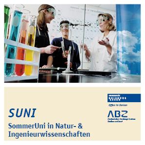 Titelbild SUNI - Sommeruni in Natur- und Ingeneurwissenschaft