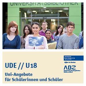 Titelbild Uni-Angebote für Schülerinnen und Schüler
