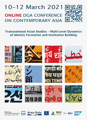 DGA Conference Transnational Asian Studies – Multi-Level Dynamics of Identity Formation and Institution Building