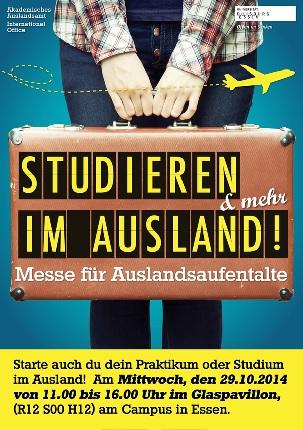 Auslandsstudium for Studieren im ausland
