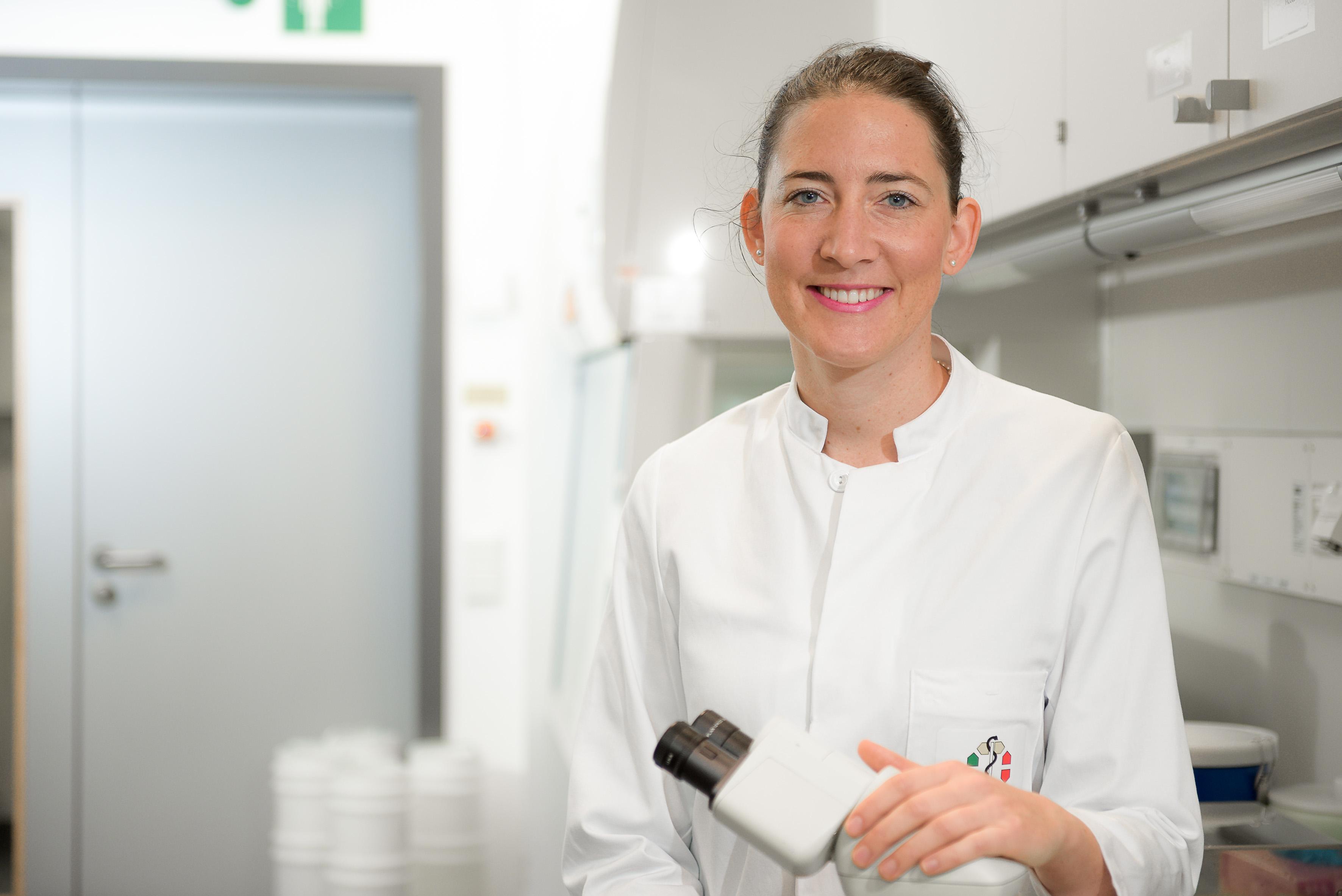Prof. Dr. Jennifer Landsberg, Foto: UDE/Frank Preuß