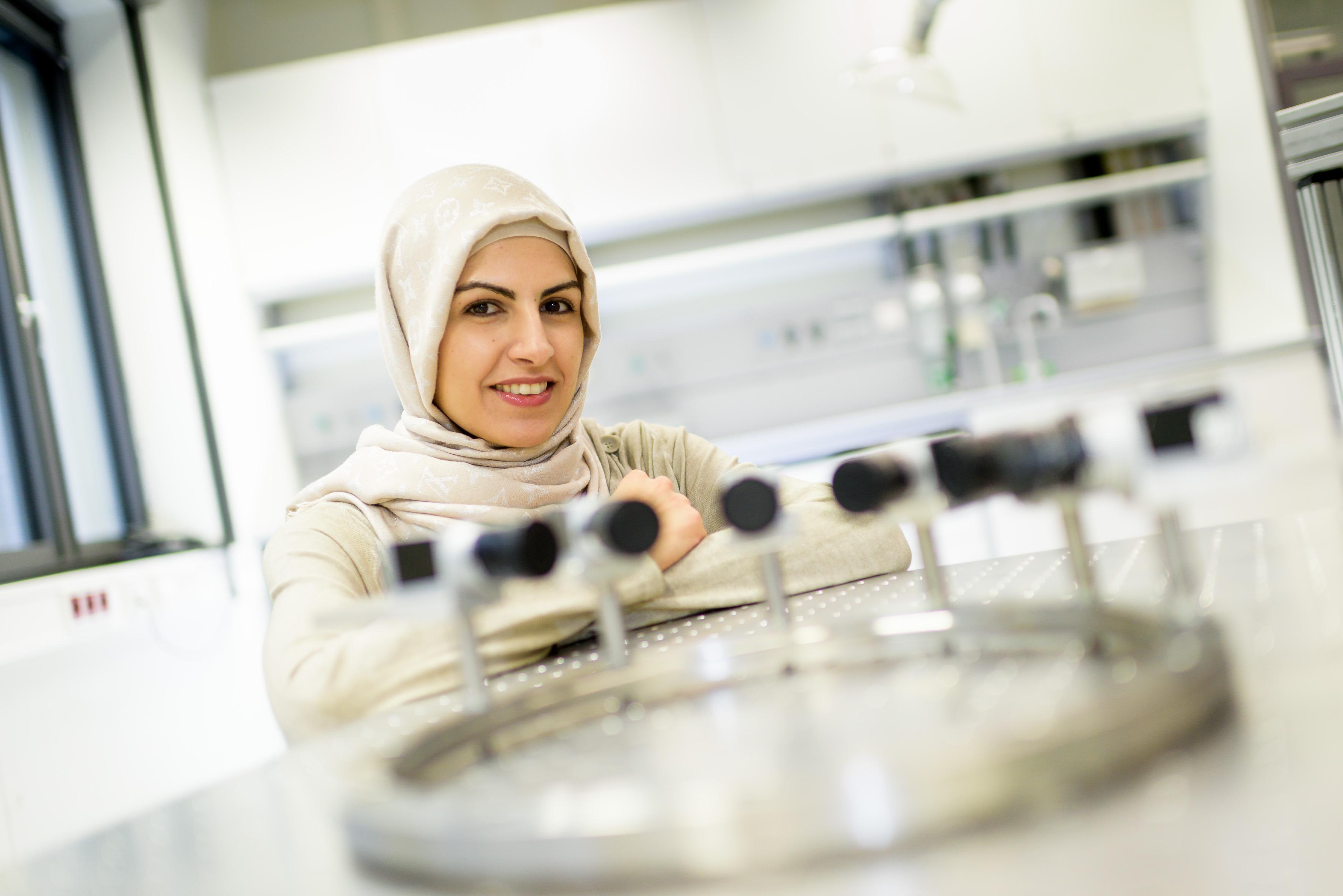 Prof. Dr. Khadijeh Mohri, Foto: UDE/Frank Preuß