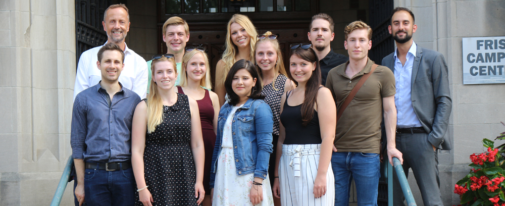 Die Transatlantic Ruhr Fellows an der Princeton University