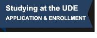 Fahne: Studieren an der UDE