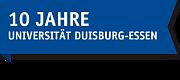 Logo:10 Jahre Uni-DUE