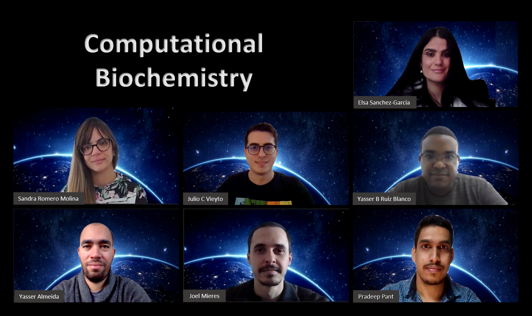 Group image of the department of Computational Biochemistry