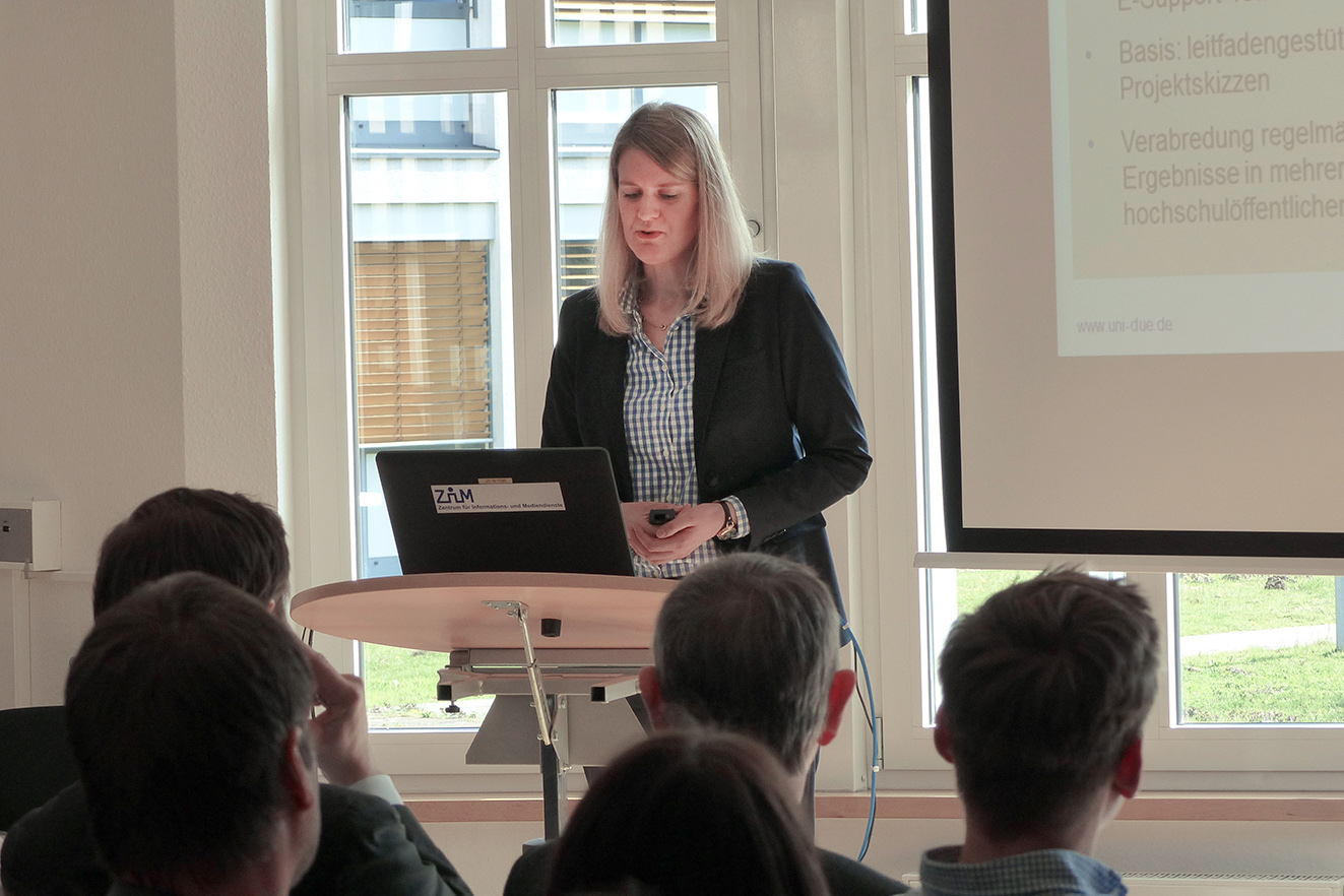 E-Learning an der Universität Duisburg-EssenE-Learning-Netzwerktag 2015