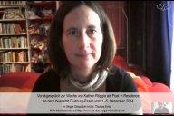 Vorab-Videogespräch mit Kathrin Röggla zu ihrer Essener Poetikdozentur