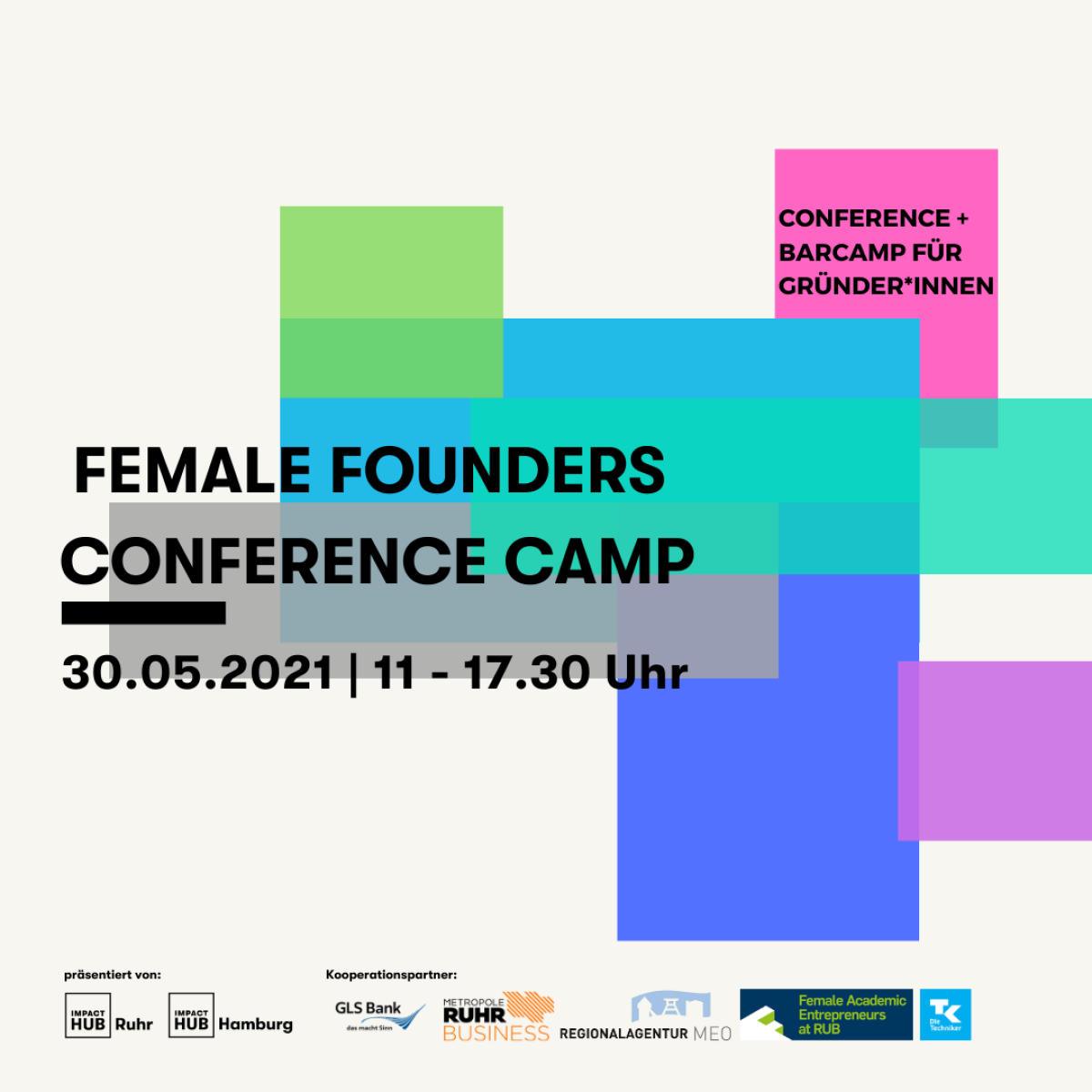 2. Female Founders Conference Camp