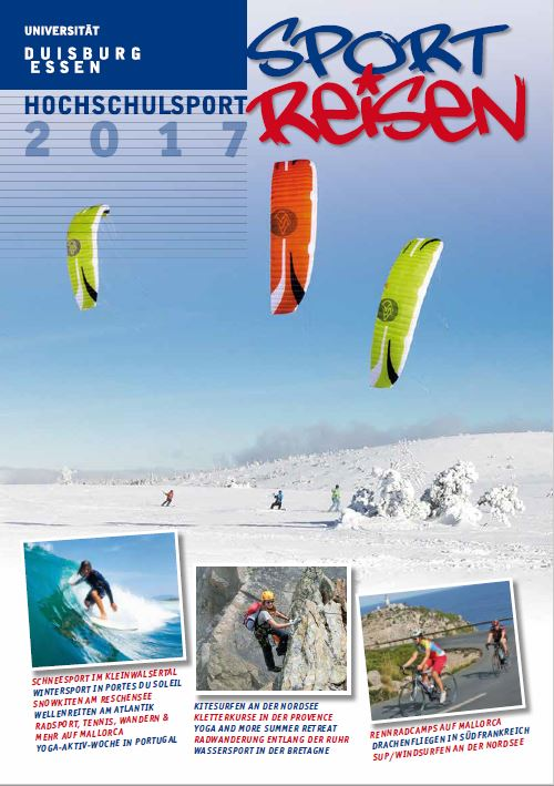 Hsp-sportreisen 2017 Cover
