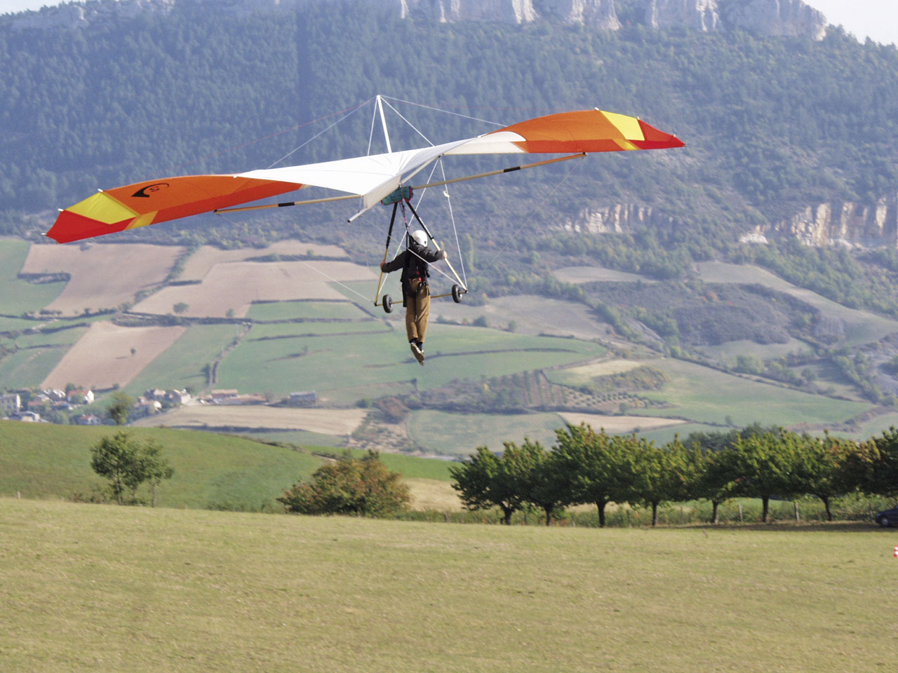 Drachenfliegen Südfrankreich