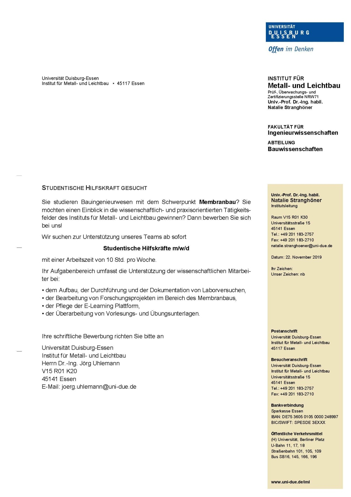 Allgemeine Informationen Zum Bewerbungsverfahren 9