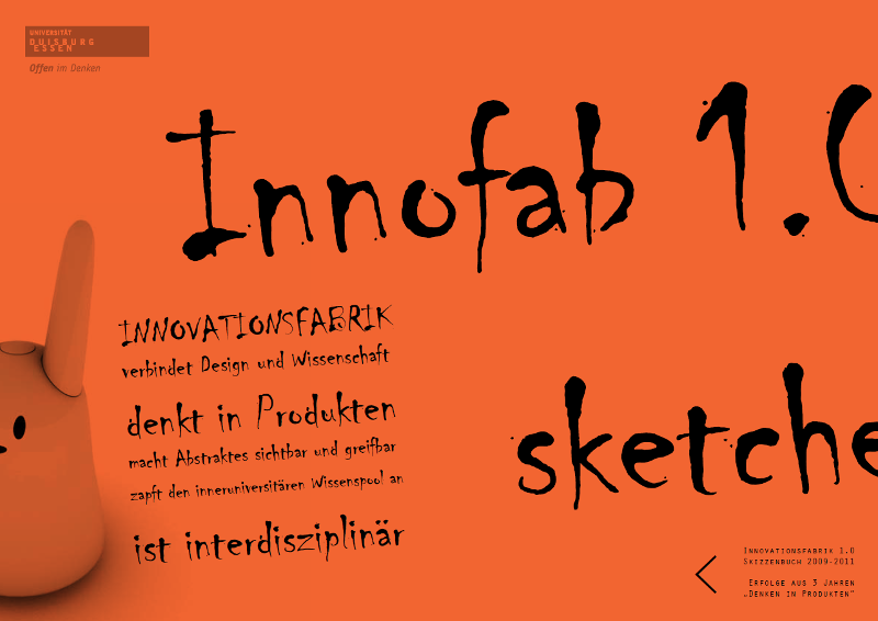 Innovationsfabrik Skizzenbuch
