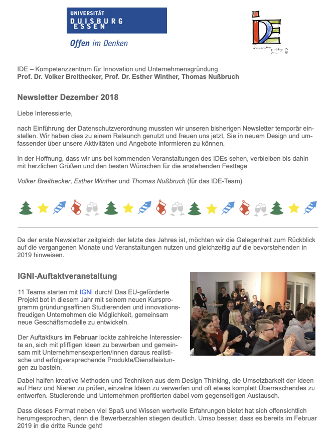 Newsletter Dez2018 1