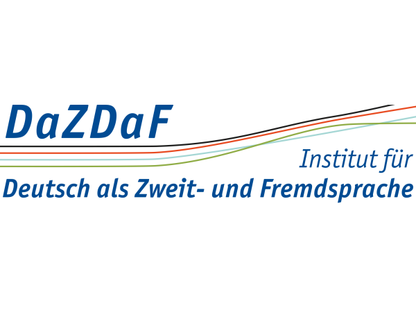Logo des Instituts for Deutsch als Zweit- und Fremdsprache (DaZDaF) and der UDE