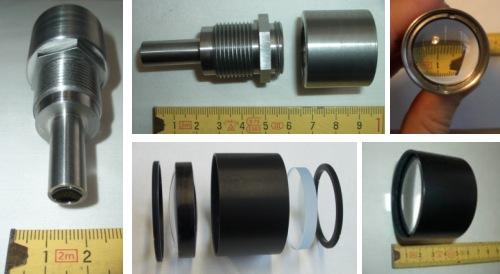 Photos of hybrid endoscope