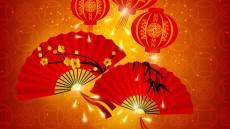 Chinesischer Fächertanz