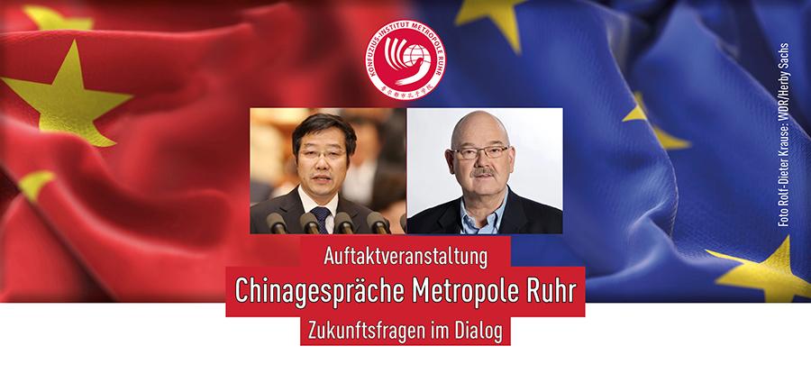 Auftaktveranstaltung Chinagespräche Metropole Ruhr