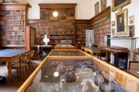 Image of the library at the Wisbech and Fenland Museum