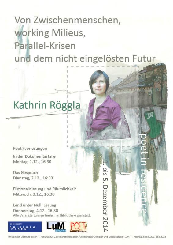 Röggla Plakat Klein