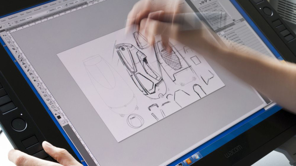 Schmuckgrafik Grafiktablet