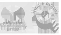 Logos Audit familienfreundliche Hochschule und Total Equality