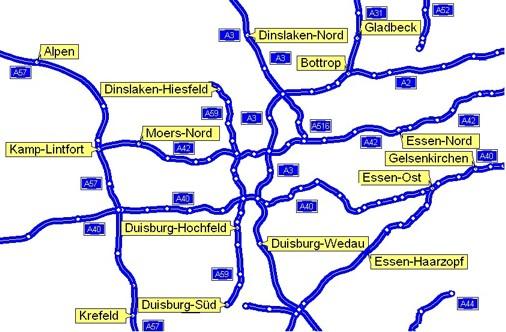 autobahn nrw karte Autobahnen In Nrw Karte | filmgroephetaccent autobahn nrw karte