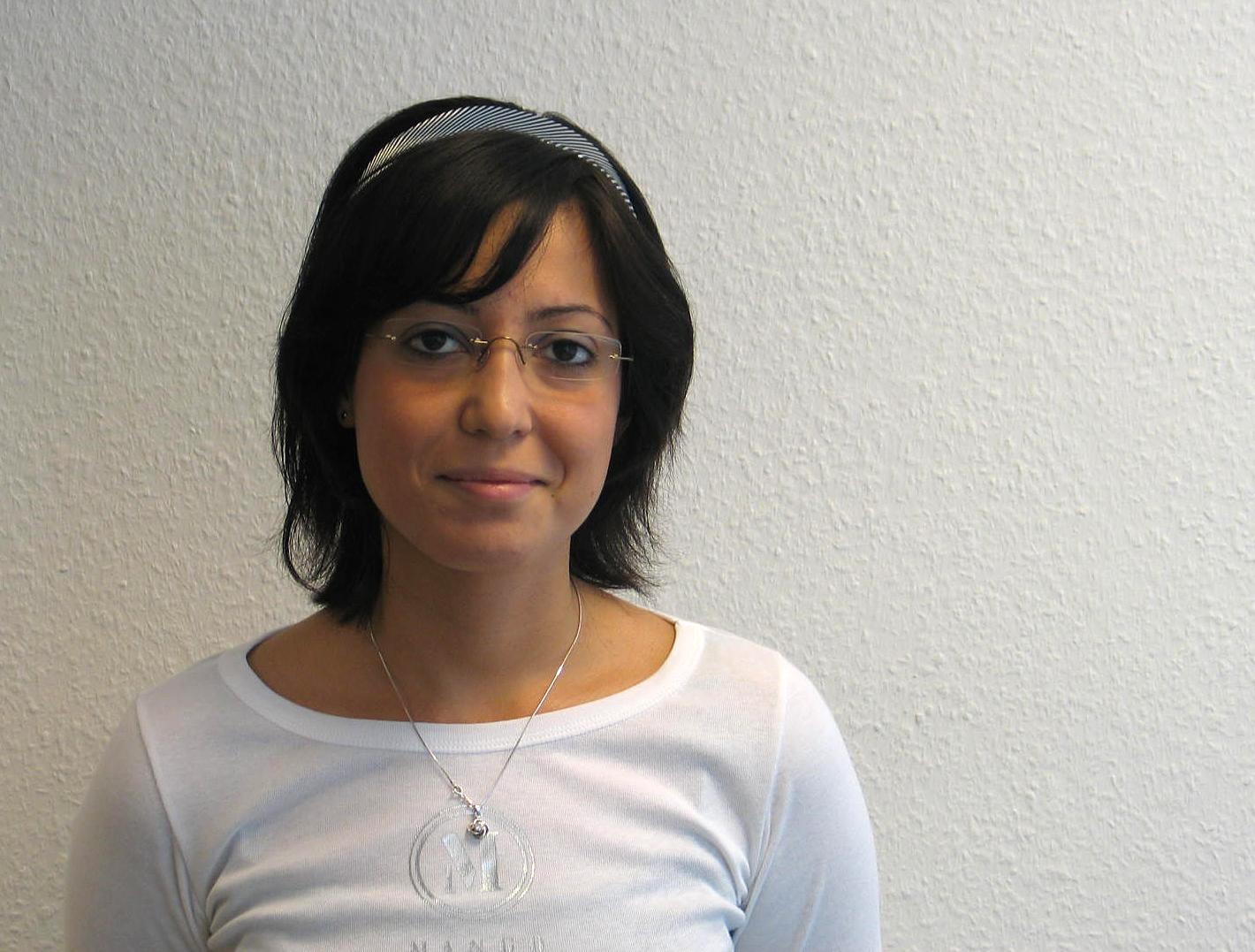 Preisträgerin Yasemin Yadigaroglu