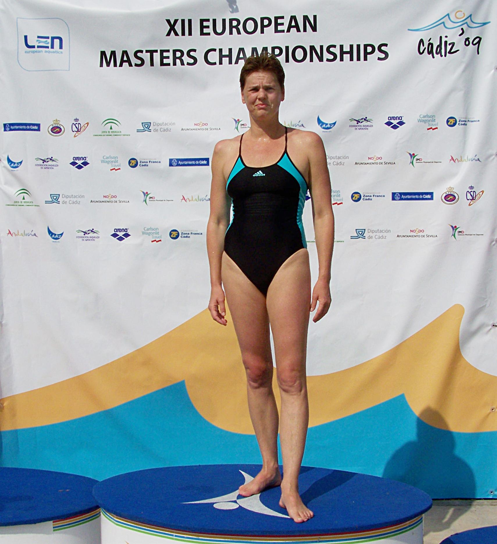 Europameisterin Alma Rüppel