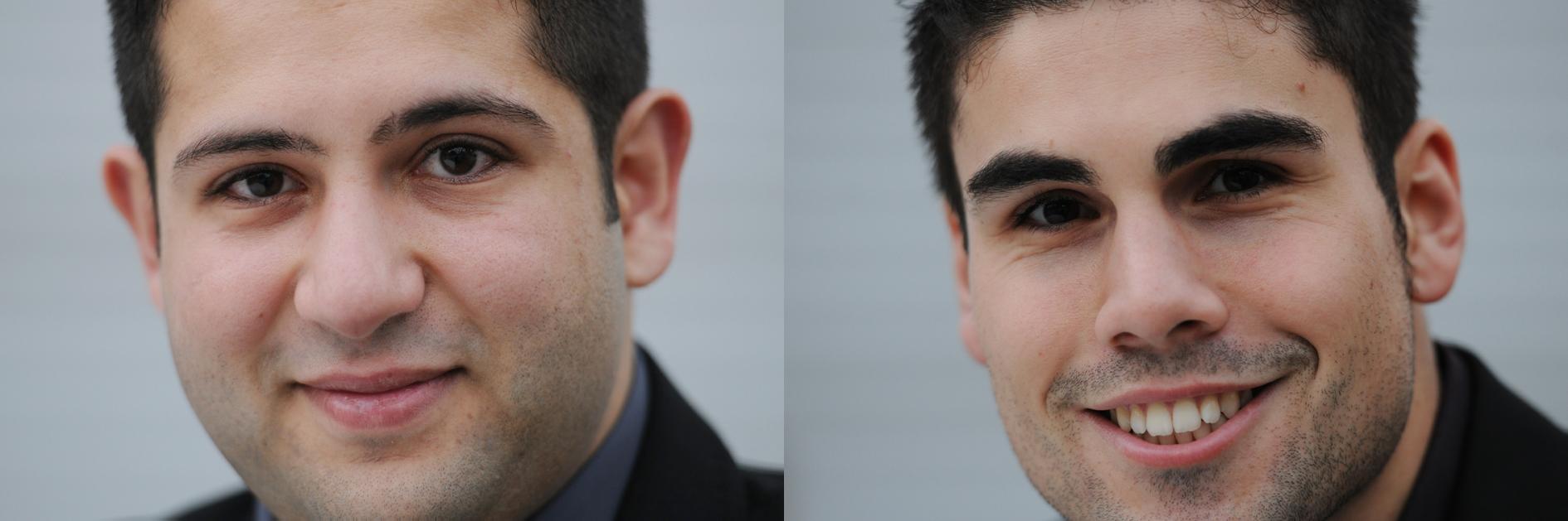 Mohamad Ali El Chaikh Ali (l) und Ulas Kalayci. Foto: Hertie-Stiftung/Pedro Citoler ©
