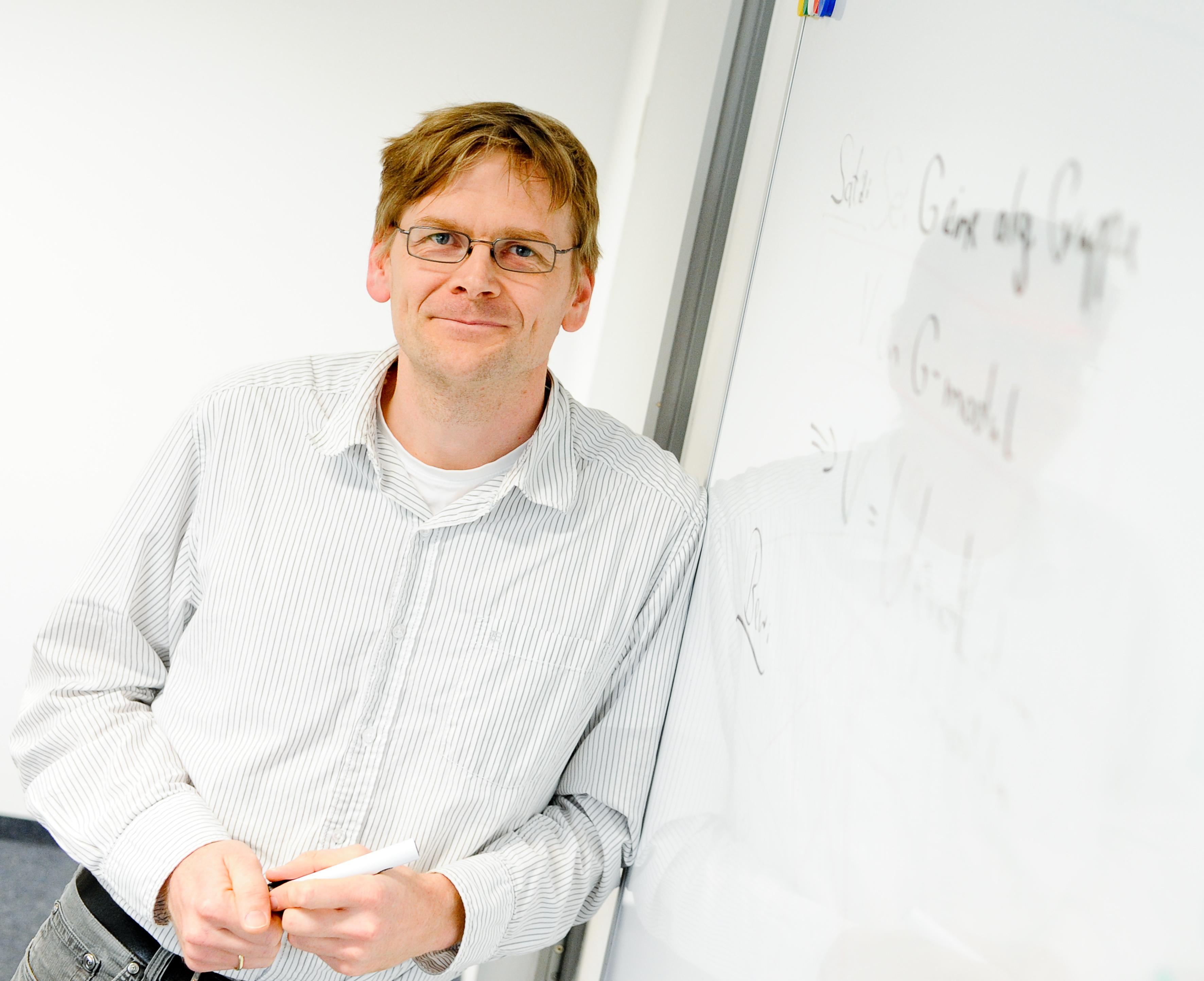 Prof. Dr. Jochen Heinloth. Foto: UDE-Pressestelle ©