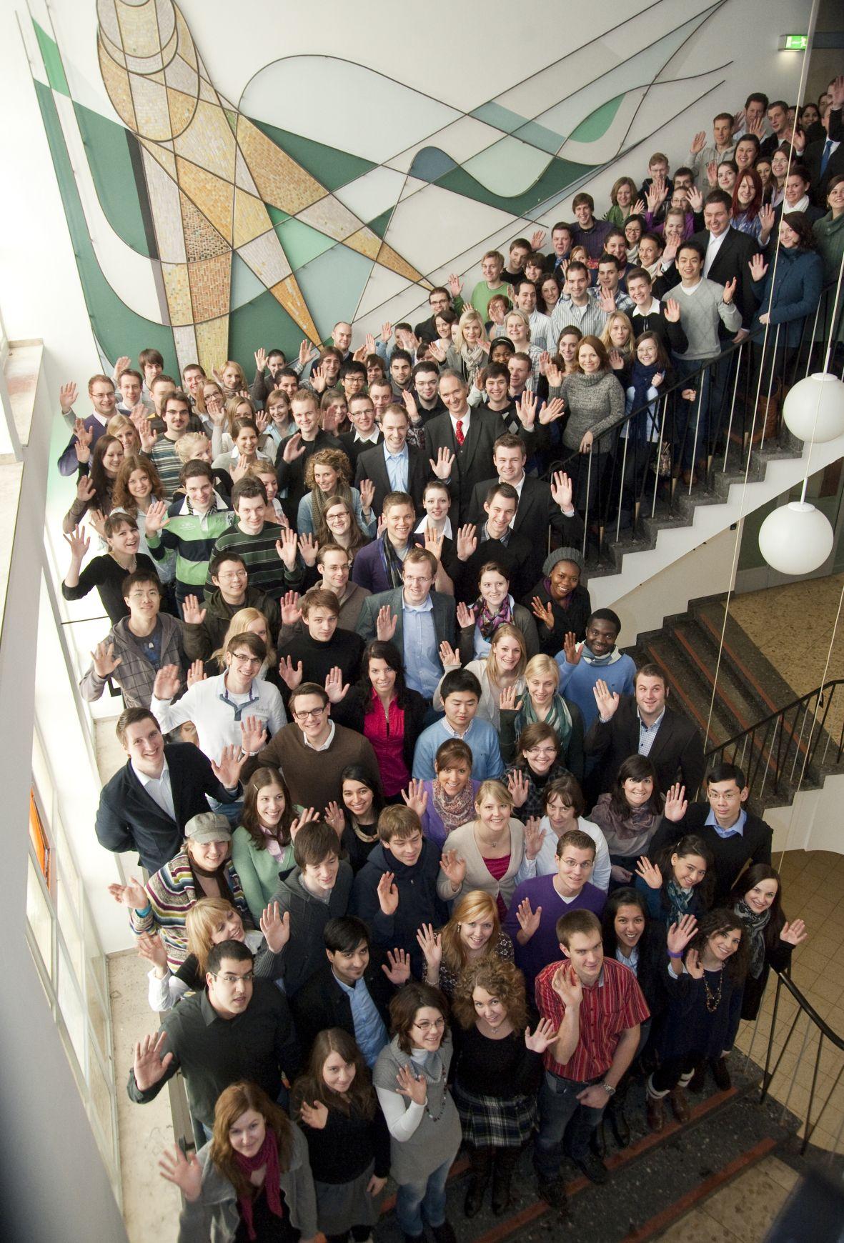 Stipendiaten der Universität Duisburg-Essen (Bildnachweis: UDE)