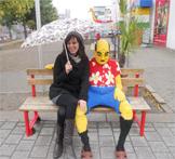 Crystal McIntosh am Legoland Discovery Centre Duisburg. Foto: privat