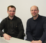 Dr. Łukasz Tomasz Rajchel (l.), Prof. Dr. Georg Jansen (r.) (photo: private)