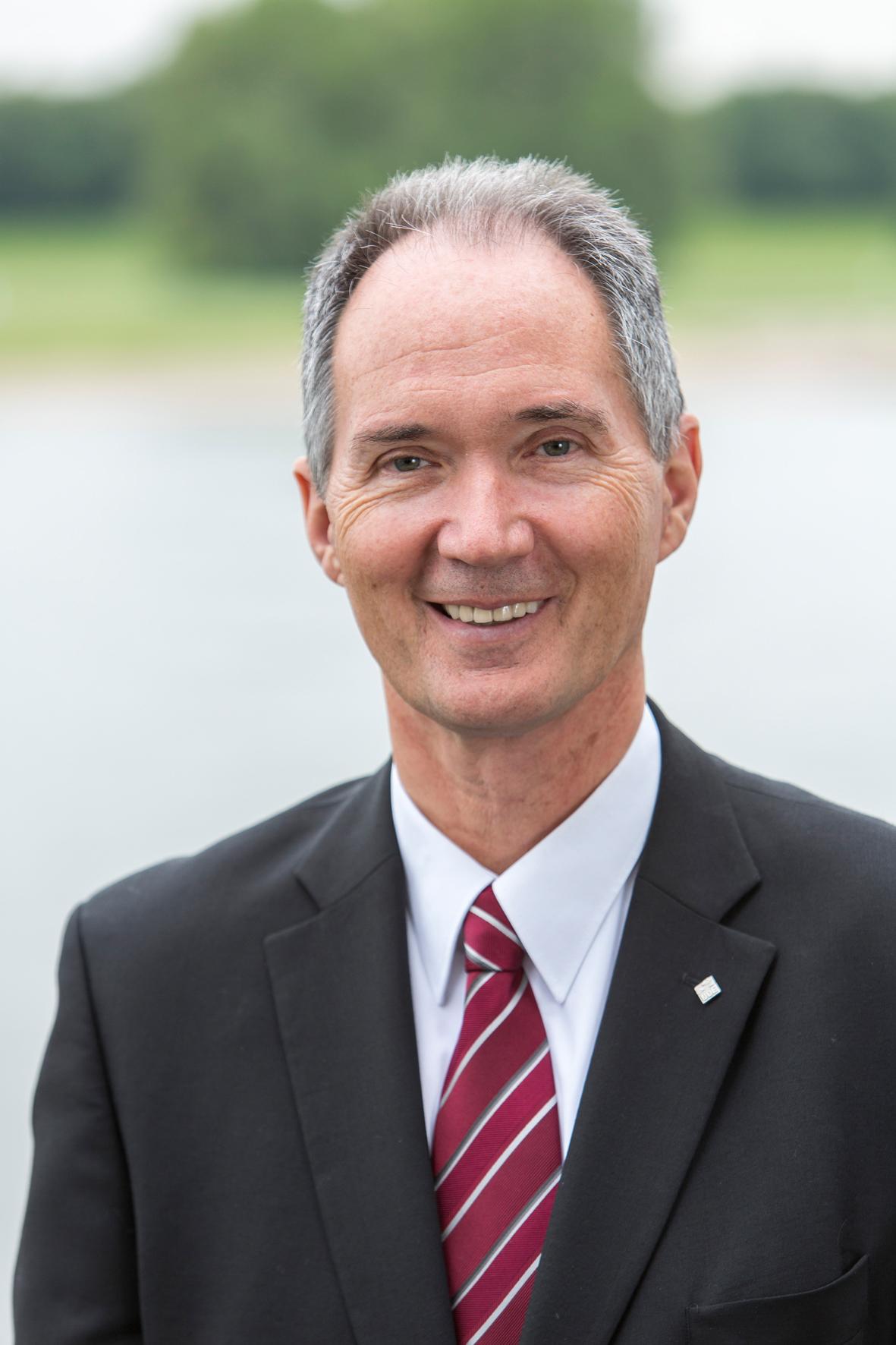 UDE-Rektor Prof. Dr. Ulrich Radtke