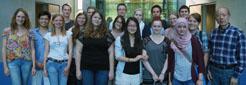Im Reisefieber: die Stipendiatengruppe