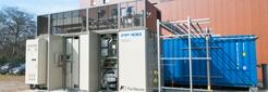 Die Brennstoffzellenanlage am ZBT