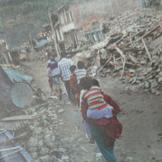 Erdbebenopfer