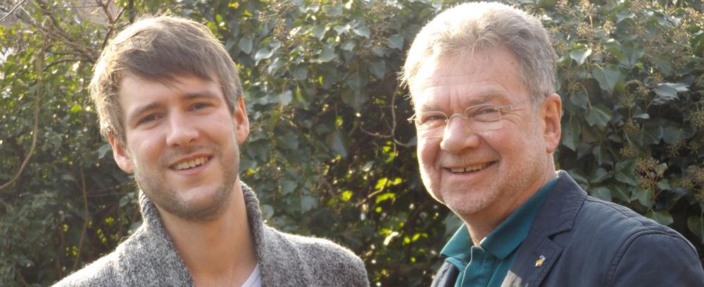 Jan und Klaus Andrees (v.l.)