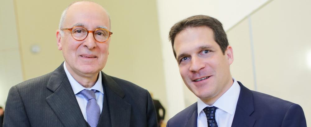 v.l.: Prof. Stamatis, Prof. Aigner