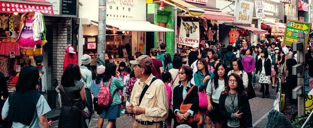 Asiatische Großstadt