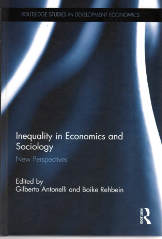 Cover Rehbein -  Inequality in Economics and Society