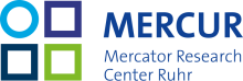 Logo Mercator Research Center Ruhr - MERCUR
