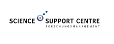 Logo der Organisationseinheit SSC - Science Support Centre
