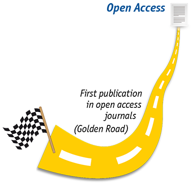 Two roads to Open Access - Golden Road