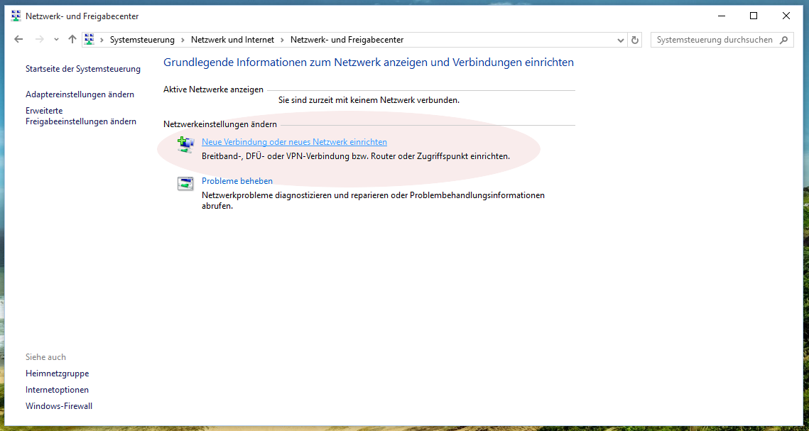 Konfiguration von eduroam unter Windows 10
